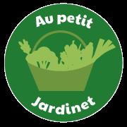 Logo Au Petit Jardinet ©Digitalneed, Virginie Boullé