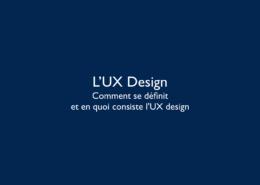 UxDesign Comment se définit et en quoi consiste l'UxDesign ©Virginie Boullé