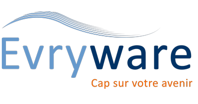 Logo Evyware ©Digitalneed, Virginie Boullé