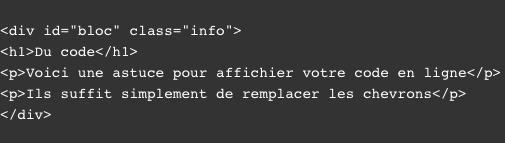 Du code source afficher en ligne - www.digitalneed.fr