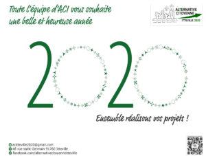 ACI ©Virginie Boullé Flyer Voeux 2020, janvier 2020