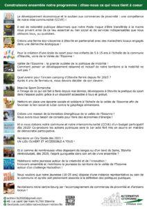 ACI ©Virginie Boullé Flyer programme, décembre 2019